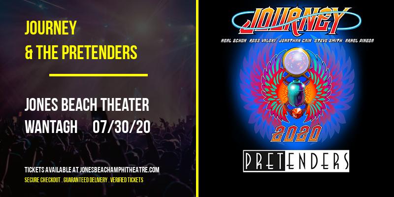 Journey & The Pretenders at Jones Beach Theater