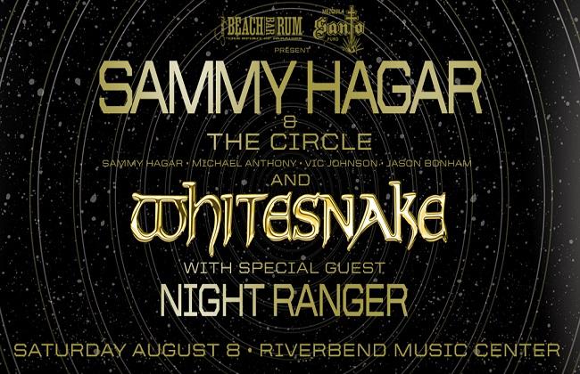 Sammy Hagar and the Circle & Whitesnake at Jones Beach Theater