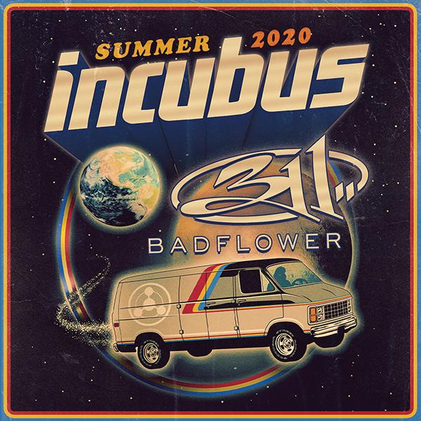 Incubus, 311 & Badflower at Jones Beach Theater