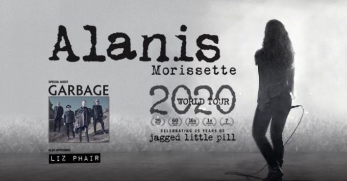 Alanis Morissette, Garbage & Liz Phair at Jones Beach Theater