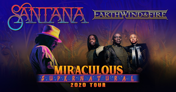 Santana & Earth, Wind and Fire at Jones Beach Theater