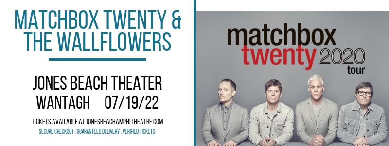 Matchbox Twenty & The Wallflowers at Jones Beach Theater