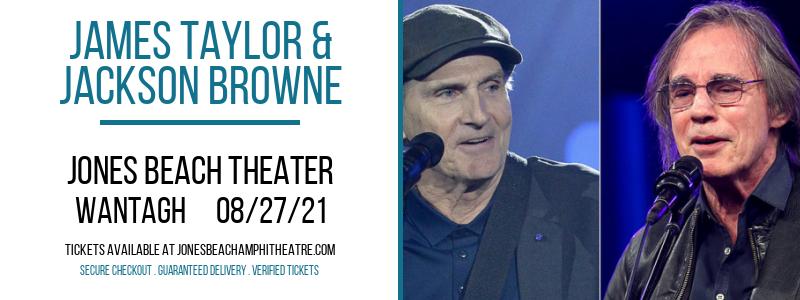 James Taylor & Jackson Browne at Jones Beach Theater