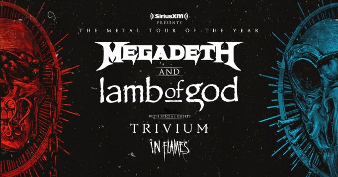 Megadeth & Lamb of God at Jones Beach Theater