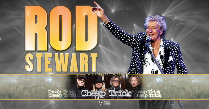 Rod Stewart & Cheap Trick at Jones Beach Theater