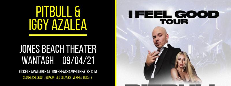Pitbull & Iggy Azalea at Jones Beach Theater