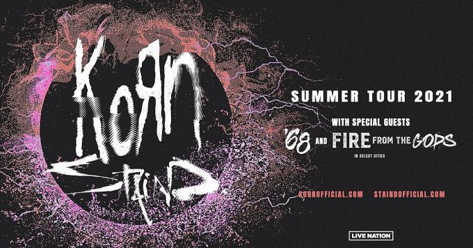 Korn & Staind at Jones Beach Theater